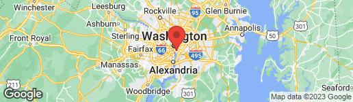Map of 530 N ST SW S208 WASHINGTON, DC 20024
