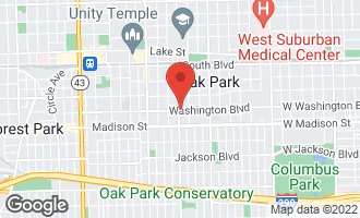 Map of 530 Washington Boulevard G OAK PARK, IL 60302