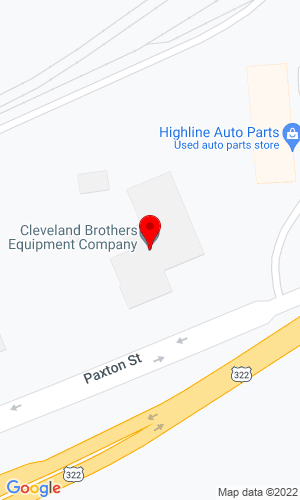 Google Map of Cleveland Brothers 5300 Paxton Street, Harrisburg, PA, 17111