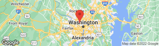 Map of 5310 VENTNOR ROAD BETHESDA, MD 20816