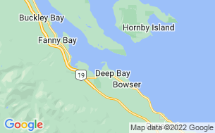 Map of Deep Bay RV Park