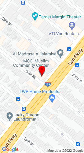 Google Map of JCB of NYC 5320 Third Ave. & 54th St., Brooklyn, NY, 11220
