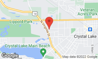 Map of 533 West Woodstock Street CRYSTAL LAKE, IL 60014