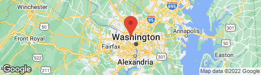 Map of 5332 SARATOGA AVENUE CHEVY CHASE, MD 20815