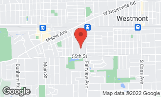 Map of 5333 Grand Avenue DOWNERS GROVE, IL 60515