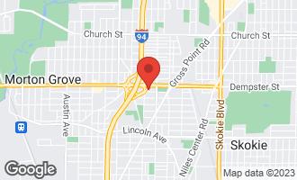 Map of 5336 Carol Street SKOKIE, IL 60077