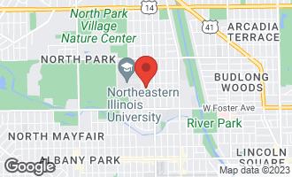 Map of 5336 North Bernard Street CHICAGO, IL 60625