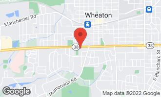 Map of 534 West Roosevelt Road WHEATON, IL 60187
