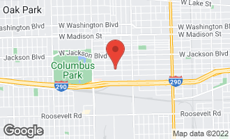 Map of 5340 West Congress Parkway CHICAGO, IL 60644