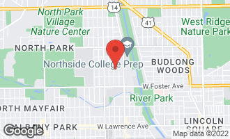 Map of 5343 North Spaulding Avenue CHICAGO, IL 60625