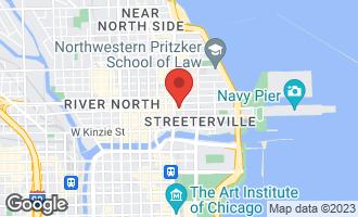 Map of 535 North Michigan Avenue #2805 CHICAGO, IL 60611