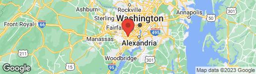 Map of 5350 Shawnee Road #250 North Alexandria, VA 22312