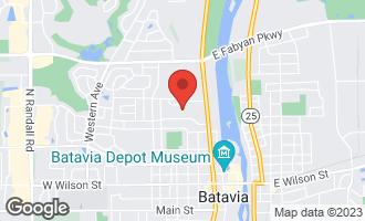Map of 536 Windsor Lane BATAVIA, IL 60510