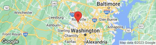Map of 537 BRENT ROAD ROCKVILLE, MD 20850