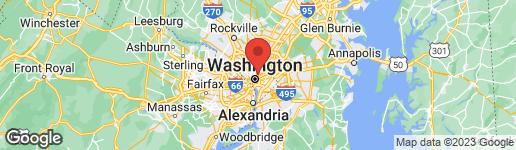 Map of 537 GRESHAM PLACE NW #1 WASHINGTON, DC 20001