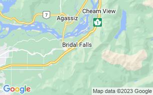Map of Bridal Falls Camperland