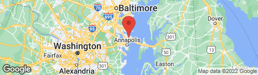 Map of 538 BAY GREEN DRIVE ARNOLD, MD 21012