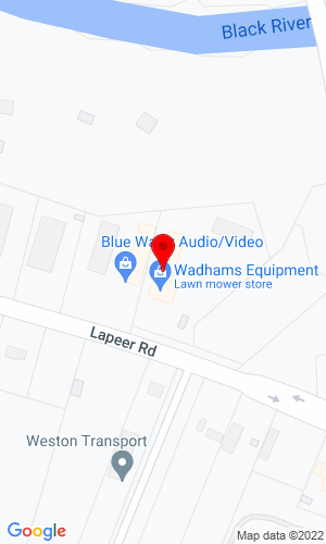Google Map of Deer Country Lawn & Garden Equipment 5386 Lapeer Road, Kimball, MI, 48074