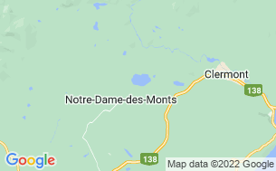 Map of Camping Dallaire