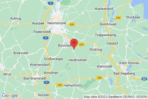 Karte Latendorf
