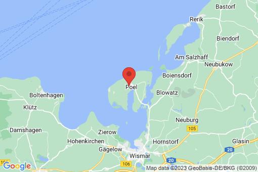 Karte Insel Poel