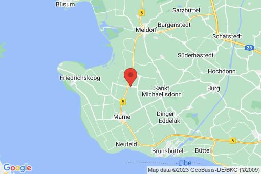Karte Trennewurth
