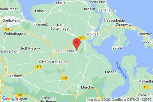 Karte Buddenhagen