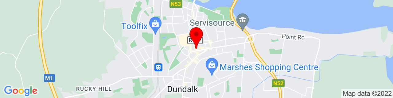 Google Map of 54.00458611111111, -6.4021944444444445