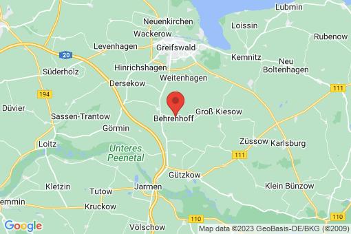 Karte Behrenhoff