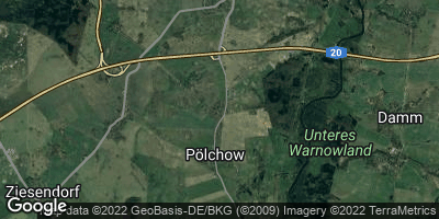 Google Map of Pölchow