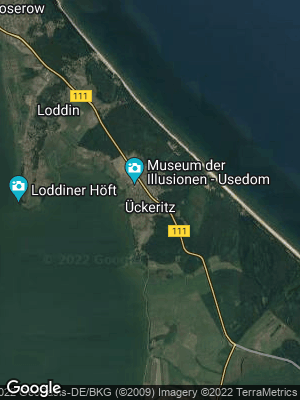 Google Map of Ückeritz