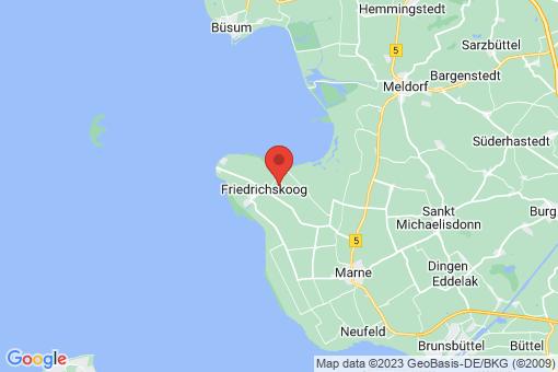 Karte Friedrichskoog