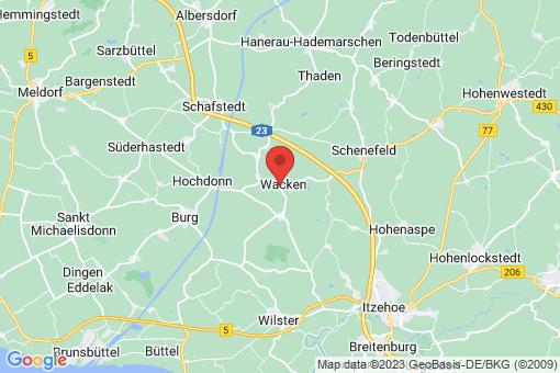 Karte Wacken
