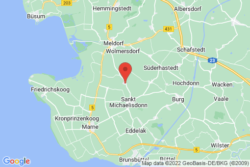 Karte Gudendorf