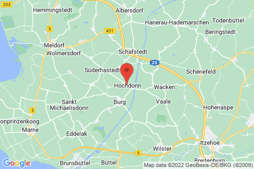 Karte Hochdonn