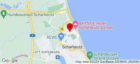 Google Map für Appartementhaus Pinamar
