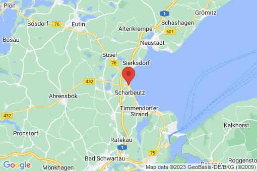 Karte Scharbeutz