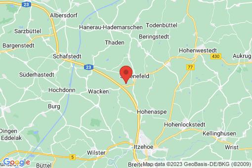 Karte Hadenfeld