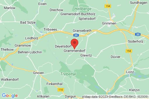 Karte Grammendorf