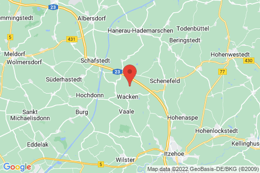 Karte Bokelrehm