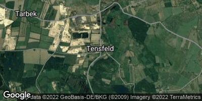 Google Map of Tensfeld