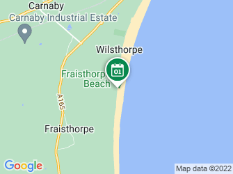 A static map of Waves of Waste beach clean at Fraisthorpe (24 July)