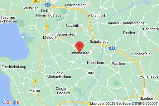 Karte Süderhastedt