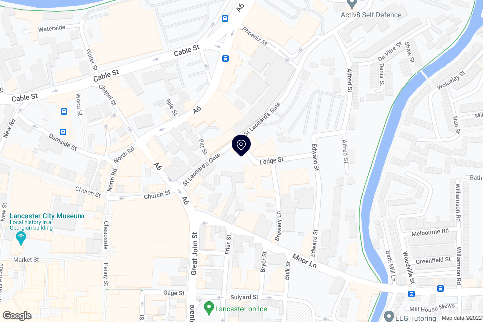 Moor Ln, Lancaster, LA1 1QE map