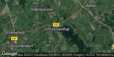 Google Map of Christinenthal