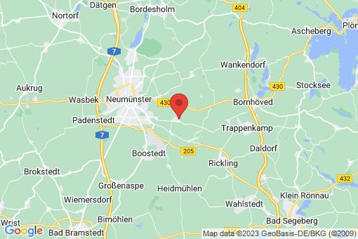 Karte Groß Kummerfeld