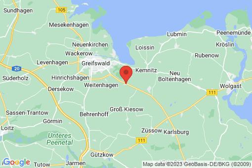 Karte Diedrichshagen