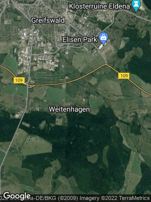 Google Map of Weitenhagen