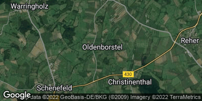 Google Map of Oldenborstel