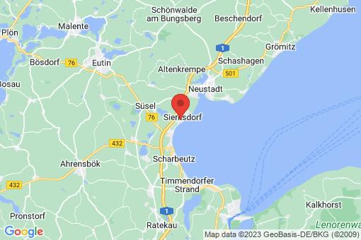 Karte Sierksdorf